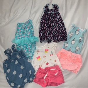0-3 month clothes Carter brand
